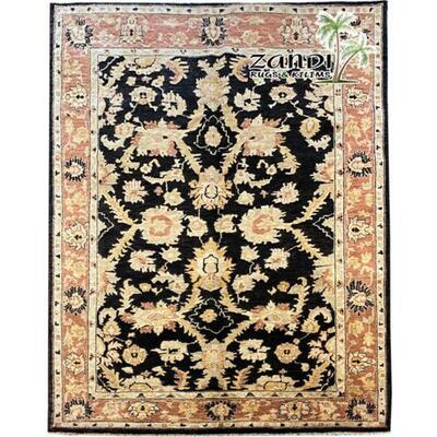 Premium Quality Afghani wool rug Size 5'8