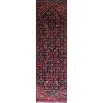 Persian hamedan Authentic Traditonal Vintage Rug 10'6
