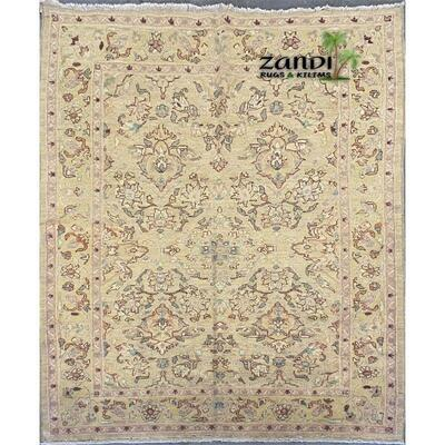 Afghani Chabi oushak design rug size 5'2''x7'3'' Retail $5056.875