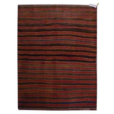 PERSIAN VINTAGE KILIM MADE WITH NATURAL WOOL AND COTTON 188x105cm Retail $1911