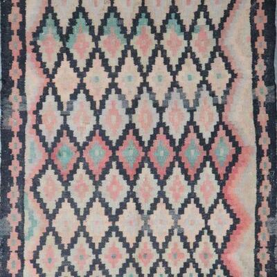 Persian Seneh, Vintage Kilim Collection Area kilim 6'0