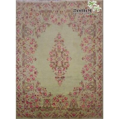 Persian Fine Antique Kerman wool/cotton Iran rug size 13.2x9.9 Retail $31363.2