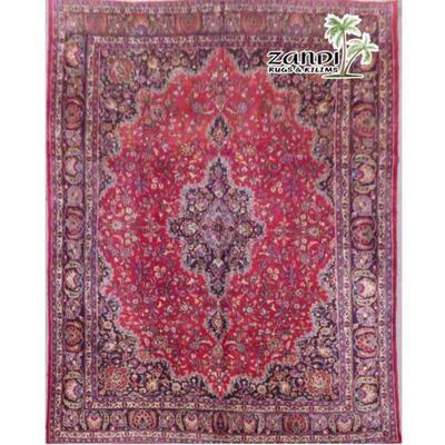 Mashad wool/cotton Iran rug size 12.4x9.1 Retail $27081.6