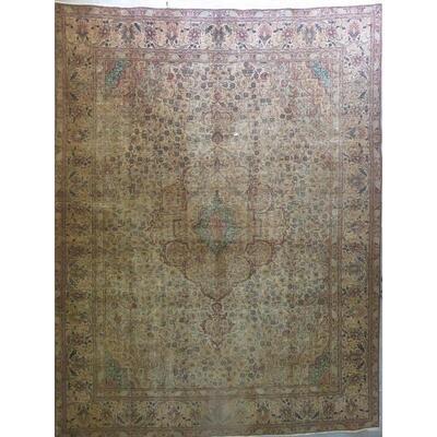 Persian tabriz Authentic Traditonal Vintage Persian Rug 9'7