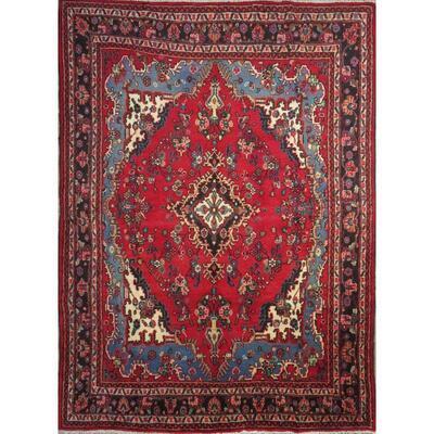 "Persian hamedan Authentic Traditonal Vintage Rug 10'10"" X 7'3″ Retail $8194"