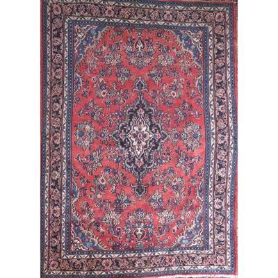Persian mashad Authentic Traditonal Vintage Persian Rug 8'8