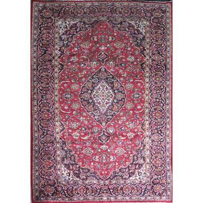 Persian mashhad Authentic Traditonal Vintage Rug 10'10