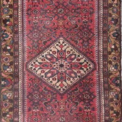 Persian hamedan Authentic Traditonal Vintage Persian Rug 9'8