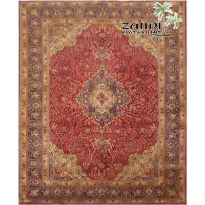 Tabriz wool/cotton iran rug size 11'3''x8' Retail $21696