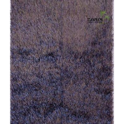 Indian Shaggy design wool/cotton rug size 8'x 8' Retail $8640