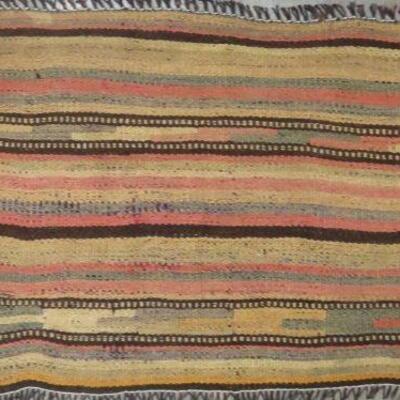 Persian Seneh, Vintage Kilim Collection Area kilim 4'0