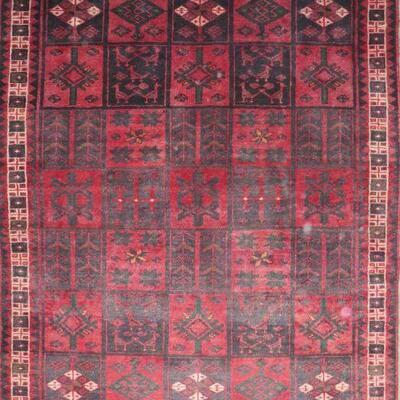 Persian hamedan Authentic Traditonal Vintage Persian Rug8'2
