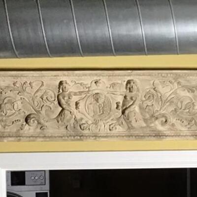 K101 - Plaster Wall Art Sandcast of Mermaids