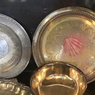 K115 - Lot of Silver Plate Items - 8 Pcs Total