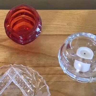 K117 - 6 Pc Misc. Glassware Lot