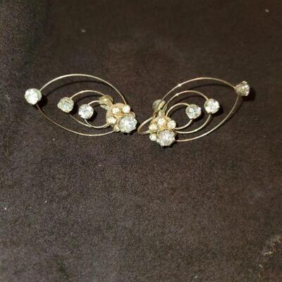 Vintage Screw-back Earrings