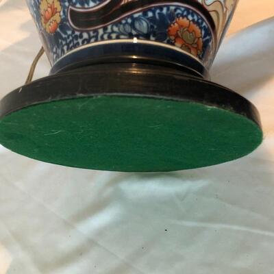 Lot 2 - Antique Imari Urn Lamp