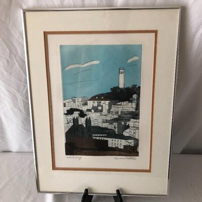 Lot 5 - Three Signed Augusta Rathbone Etchings