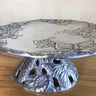 K130 - Arthur Court Covered Glass Serving Dish