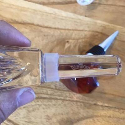 K135 - Waterford Letter Opener & Bottle Stopper, Versace Bottle Stopper, and more