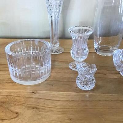 K156 - (6) Pc Clear Glass Lot