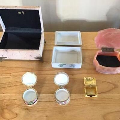 K159 - (6) Trinket Boxes