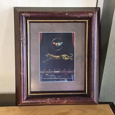 K174 - Framed Tim Cantor Art
