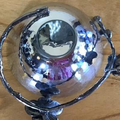 E108 - Michael Aram Bowl & Jewelry Tree Dish