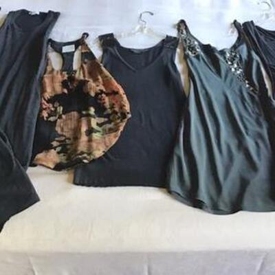 C102 -6 pc. Clothing Lot - 4 Dresses & 2 Tops / Sz. 0 and XS