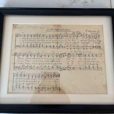 Original 1809 Felix Mendelssohn lieblingsplätzchen