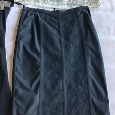 C120 - 3 Black Skirts + 3 Tops