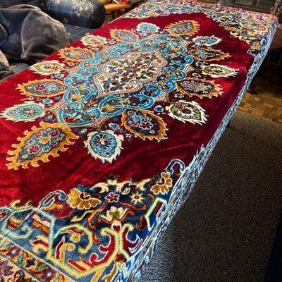 Wool & silk Oriental Rug 6' x 5'