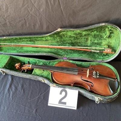 LOT#H2: German Caspar Da Salo Brescia Violin