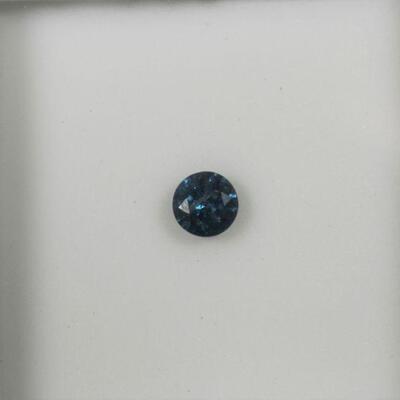 LOT#R4: .40 Carat Brilliant Cut Blue