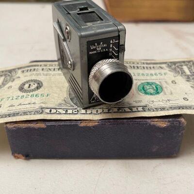 Universal mini movie camera in box