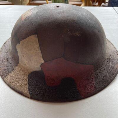 1915 British MK 1 CB 333 MCBN Military helmet