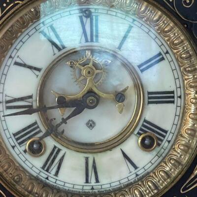 Ansonia mantle Clock Co. 1881 New York