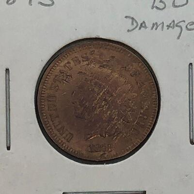 Lot 1 - 1873 Indian Head Penny