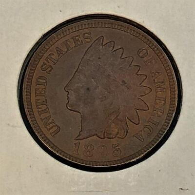 Lot 6 - 1895 Indian Head Penny