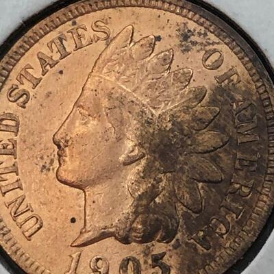 Lot 8 - 1905 Indian Head Penny