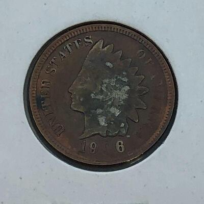 Lot 9 - 1906 Indian Head Penny