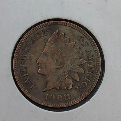 Lot 10 - 1908 Indian Head Penny