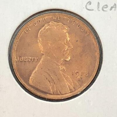 Lot 11 - 1913 D  Lincoln Wheat Penny