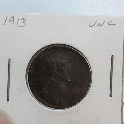 Lot 12 - 1913  Lincoln Wheat Penny
