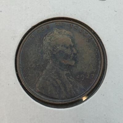 Lot 17 - 1927  Lincoln Wheat Penny