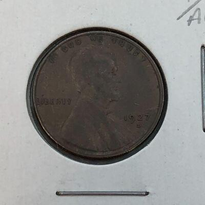Lot 18 - 1927 D  Lincoln Wheat Penny