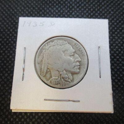 Lot 23 - 1935 D Buffalo Nickel