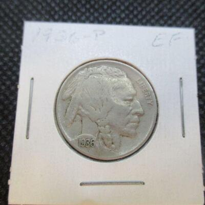 Lot 24 - 1936 P Buffalo Nickel