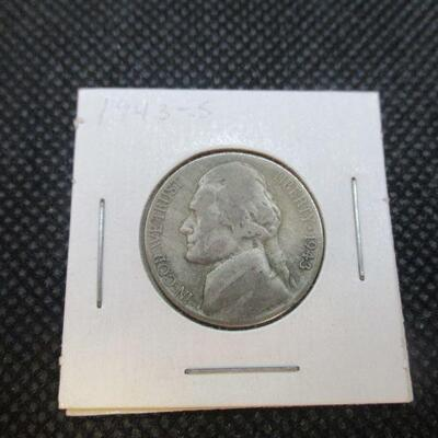 Lot 28 - 1943 S Jefferson Nickel