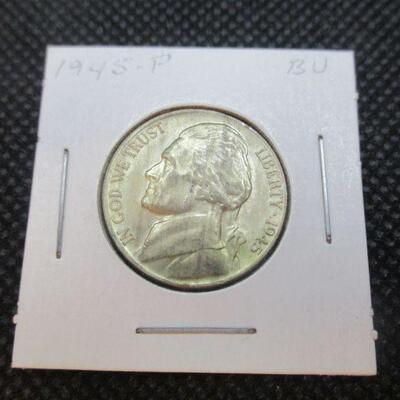 Lot 30 - 1945 P Jefferson Nickel